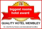 Biggest Rooms Hotel Award